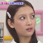 整形モデル菜々緒(ナナオ)がスマスマで中居メイク!!変形顔アップwww